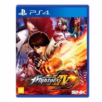 The King Of Fighters Xiv Ps4 Lacrado + Brinde