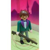 Playmobil Caballero Ingles Con Escopeta De Cacería Js
