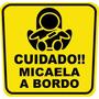 Stickers Cuida A Tu Bebe En Tu Auto No Roxy No Dolce No Pc