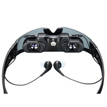 Óculos Tela Virtual 60 - P/ Iphone, Ps3, Xbox, Tv, Dvd, Mp4