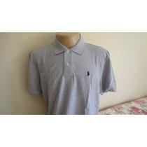 Camisa Polo By Ralph Lauren Cinza Cavalo Azul Tam . Gg