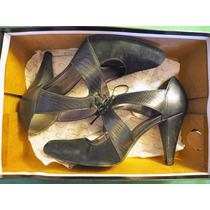 05 Gacel Zapatos De Vestir Oficina Negros Perfecto Estado 38
