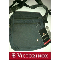 Victorinox Bolso Bandolero Espectacular Nuevo Modelo Negro