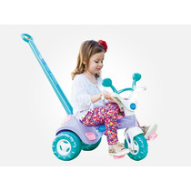 Triciclo Infantil Menina Charmosa Musical Cotiplás Promoção