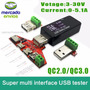 Multi Tester Usb 3a30 Volts 5.1 Amp. Energia Potencia Datos