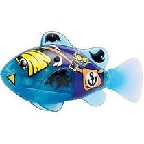 Robô Fish Peixe Pirata Nada Sozinho Dtc 2957 Azul