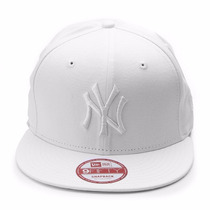 Bone New Era Original New York Ny Importado Snapback Branco