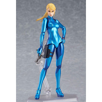 Metroid Other M: Samus Aran Zero Suit Figma Disponible