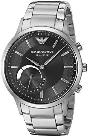 bd34c55807b Relógio Emporio Armani Connected Hybrid Art3000 Smartwatch - R  2.469