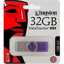 Pen Drive 32gb Kingston Original - Lacrado Blister