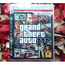 Gta Iv - Mídia Física - Impecável - Playstation 3