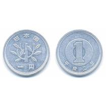 Moeda Antiga De 1 Yen - Japão