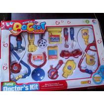 Juego De Doctor Para Niños O Niñas 14pza