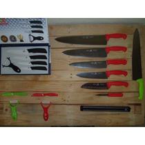 Cuchillos Chef Paquete Master Chef 17 Piezas