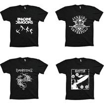 Lote 70 Camisas Revenda Atacado Rock Hiphop - Frete Grátis!!