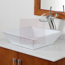 Esatto ® - Econokit Maya 3 Lavabo Bco Llave Cespol Contra