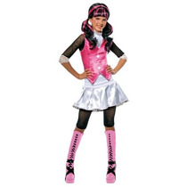 Monster High Costume Draculaura - Un Color - Media