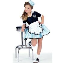 Car Hop Girl Child Costume Gran Tamaño