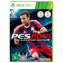 Jogo Pro Evolution Soccer 2015 - Pes 15 - X360