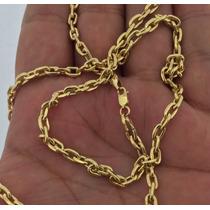 Corrente Cartier Oca Em Ouro 18k 0,750 Com 13grs.
