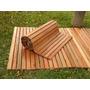 Deck Madera Flexible Y Desmontable De 3 Mts X 150 Cm X 2.0cm