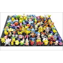 Lote De 144 Bonecos Miniatura Kit Pokémon P/ Colecionadores
