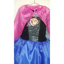 Disfraz De Princesa Ana De Frozen