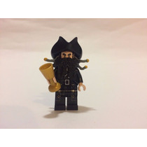 Lego Piratas Del Caribe - Barbanegra/ Blackbeard Original