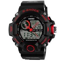 Reloj Quarzo Skmei 1029 Rojo Deportivo