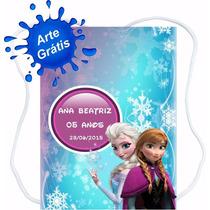 90 Mochilinhas Bolsinhas Sacolinhas Personalizadas Frozen