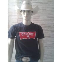 Camiseta Com Bordado Frontal Eds Rodeio