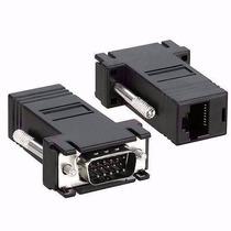 Conector Adaptador Vga Macho X Rj45 P/ Cabo De Rede
