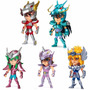 Saint Seiya Mini Figuras 9 Cm ( 5 Personagens )