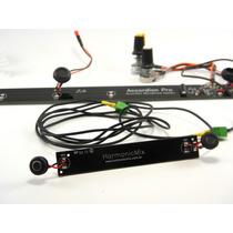 Captação Eletrificação Acordeon Profissional Hmx 16 Black