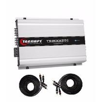 Modulo Taramps Ts2000x4 Digital Compact 2000w Rms + Cabo Rca