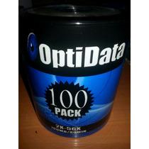 Cd Vírgenes Optidata Paquete De 100 Unidades