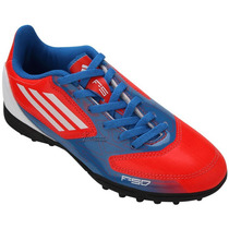 Society Infantil Adidas F5 Trx Tf Jr - Tamanho 35 - G61522
