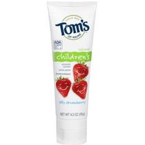 Tom Tonto De La Fresa De La Crema Dental Del Fluoruro De Mai