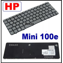 Teclado Hp Mini 100e Ç Cinza - 615967-201 - Original