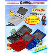 N O V O !!! Game Boy Advance Sp 001 Original Nintendo 12x