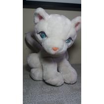Pelucia Gatinha Branca - 31cm X 25cm