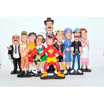 Turma Do Chaves Em Resina - 10 Personagens - Frete Gratis