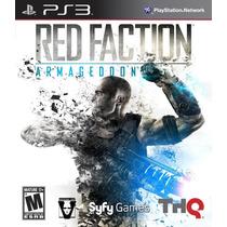 Jogo Ps3 Red Faction Armageddon Original Mídia Física