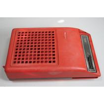 Vitrola Radiola Toca Disco Vermelha Philips Antiga