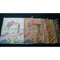 Envío Gratis!!! Hermosos Rebozos De Frida Kahlo