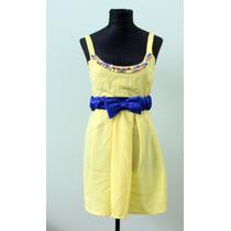 Vestido Amarillo Estilo Años 50s Pin Up- Envios
