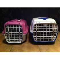 2 Casinhas De Transporte Para Cães E Gatos Malas De Pet Shop