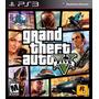 Juego Ps3 Gta Grand Theft Auto V Nuevo Sellado Fìsico