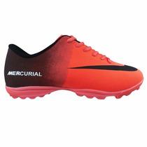 Tênis Chuteira Society Nike Mercurial Vortex