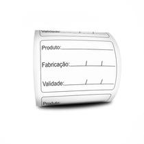 Etiqueta Validade Anvisa Bopp -3 Linhas - 60x40 - Milheiro